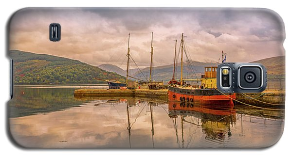 Galaxy S5 Case featuring the photograph Evening At The Dock by Roy McPeak