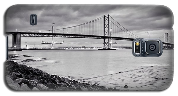 Galaxy S5 Case featuring the photograph Evening At The Forth Road Bridges by RKAB Works