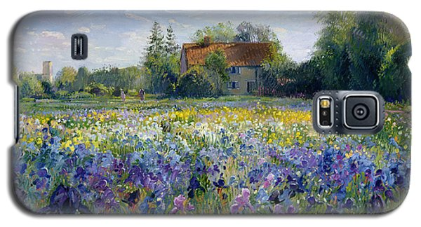 Evening At The Iris Field Galaxy S5 Case by Timothy Easton