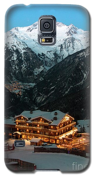 Evening Comes In Courchevel Galaxy S5 Case