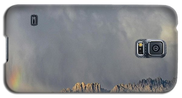 Galaxy S5 Case featuring the photograph Evening Drama Over The Organs by Kurt Van Wagner