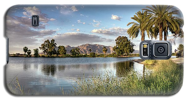 Evening Fishing Galaxy S5 Case by Lynn Geoffroy
