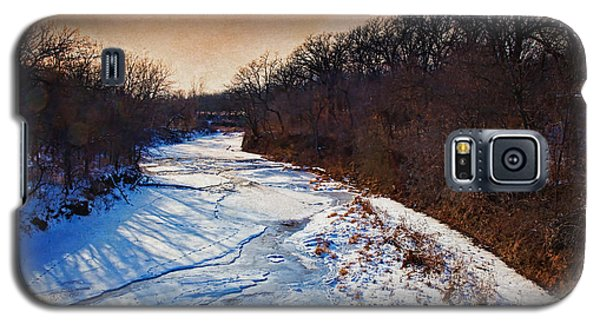 Evening Frozen Creek Galaxy S5 Case