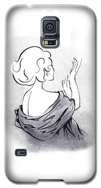 Galaxy S5 Case featuring the digital art Evening Gloves by Cindy Garber Iverson