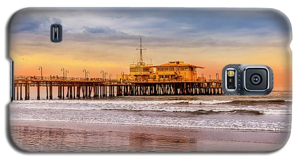 Evening Glow At The Pier Galaxy S5 Case