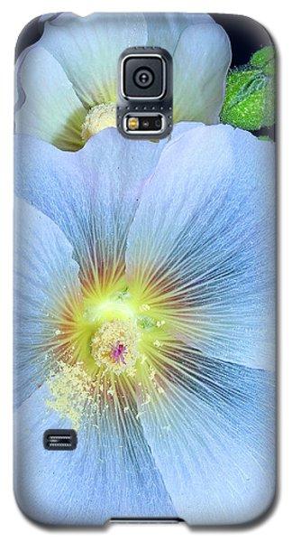Evening Hollyhock Galaxy S5 Case by Tammy Schneider