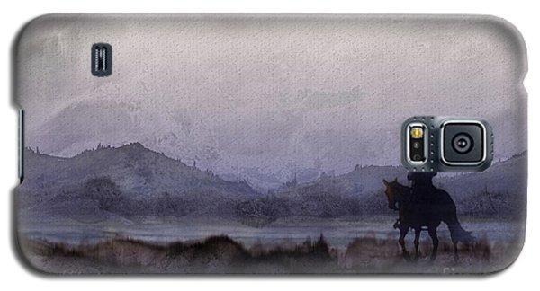 Evening Horseback Ride Galaxy S5 Case by Judy Filarecki