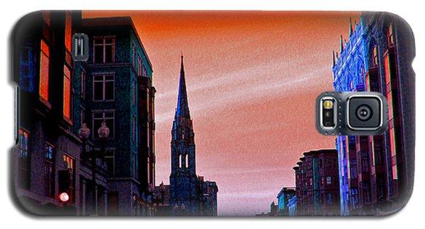 Evening In Boston Galaxy S5 Case