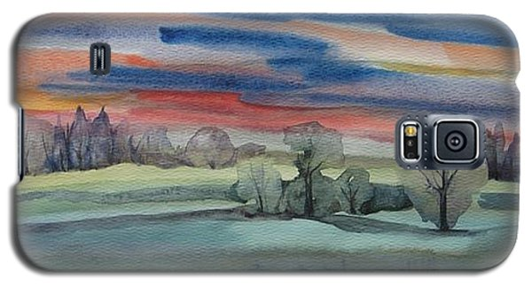 Evening In Fishcreek Park Galaxy S5 Case by Anna  Duyunova