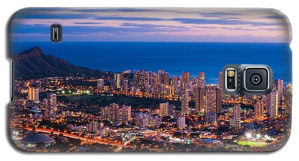 Evening In Honolulu Galaxy S5 Case