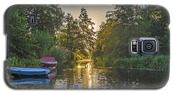 Evening In Loosdrecht Galaxy S5 Case