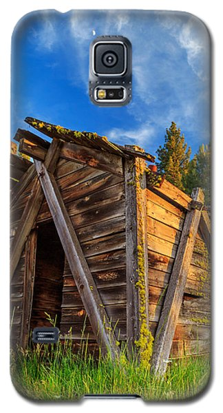 Evening Light On An Old Cabin Galaxy S5 Case