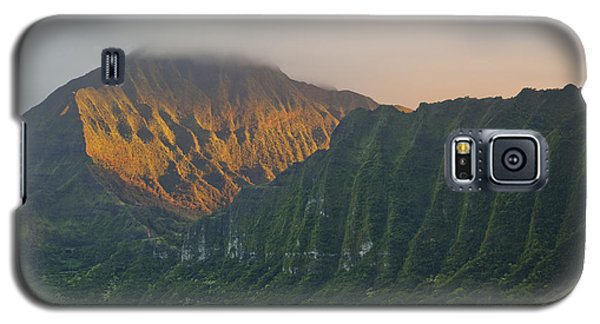 Evening Light On Ko'olau Mountains Galaxy S5 Case