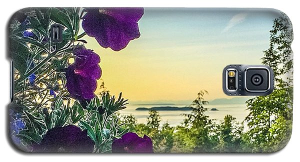 Galaxy S5 Case featuring the photograph Evening Light On Orcas Island by William Wyckoff