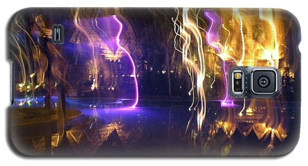 Galaxy S5 Case featuring the photograph Evening Light Show At The Grand Mayan by Dianne Levy