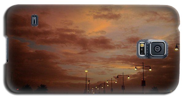 Evening Lights On Road Galaxy S5 Case
