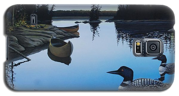 Evening Loons Galaxy S5 Case