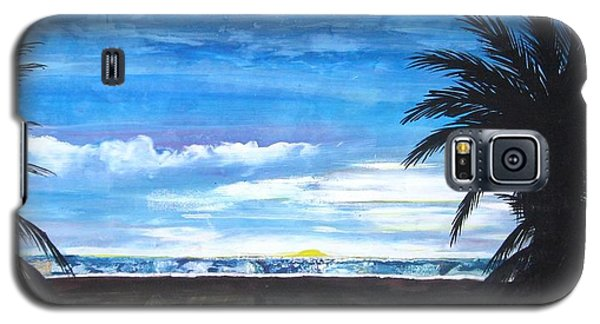Tropical Evening Galaxy S5 Case