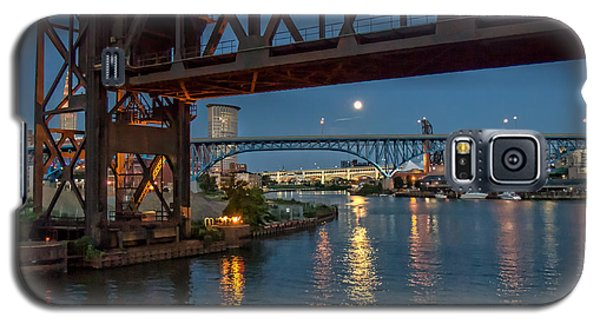 Evening On The Cuyahoga River Galaxy S5 Case by Brent Durken