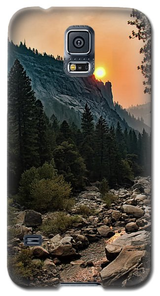 Evening On The Merced River Galaxy S5 Case