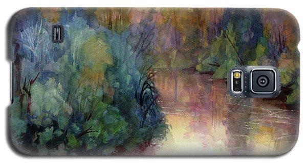 The Sky Galaxy S5 Case - Evening On The Willamette by Steve Henderson