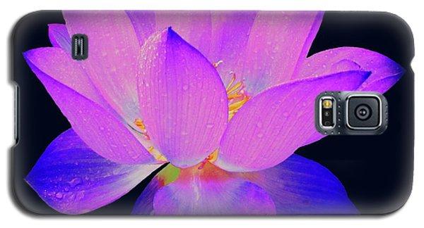 Evening Purple Lotus  Galaxy S5 Case