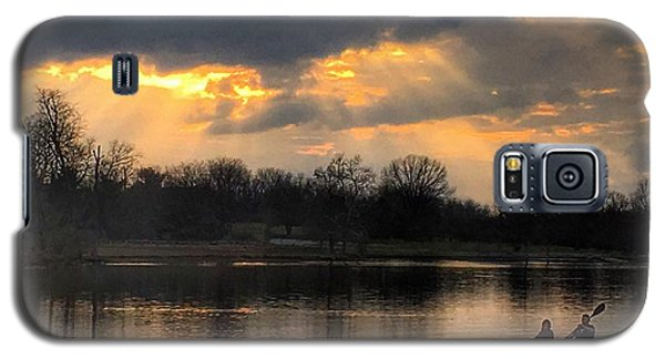 Galaxy S5 Case featuring the photograph Evening Relaxation by Sumoflam Photography