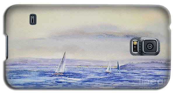 Evening Sail On Little Narragansett Bay Galaxy S5 Case