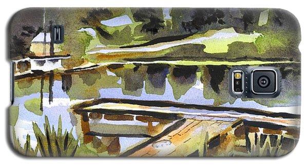 Evening Shadows At Shepherd Mountain Lake Galaxy S5 Case
