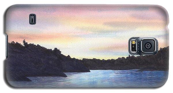 Evening Silhouette Galaxy S5 Case