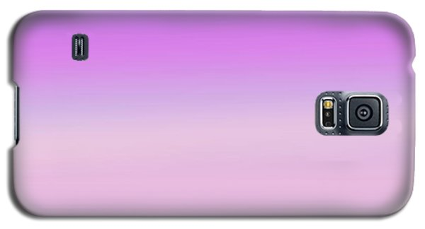 Galaxy S5 Case featuring the digital art Evening Sky Abstract by Denise Beverly