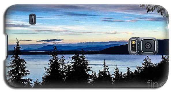 Galaxy S5 Case featuring the photograph Evening Sky by William Wyckoff