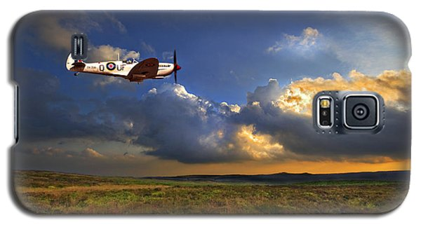 Evening Spitfire Galaxy S5 Case