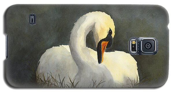 Evening Swan Galaxy S5 Case by Phyllis Howard