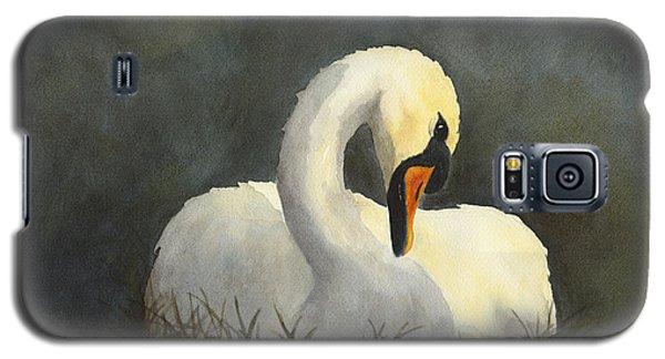 Evening Swan Galaxy S5 Case