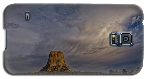 Evening Time At Devils Tower Galaxy S5 Case