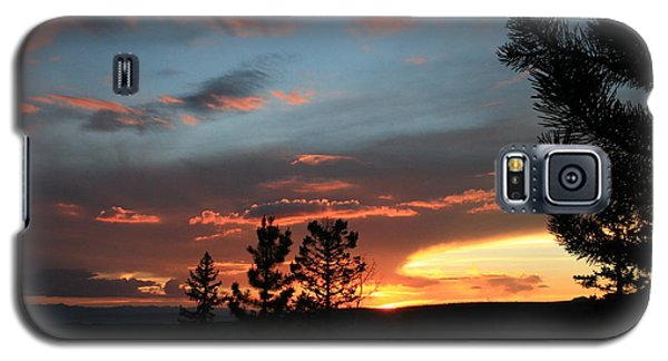 Galaxy S5 Case featuring the photograph Evening View  by Edward R Wisell