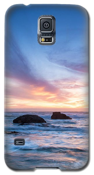Evening Waves Galaxy S5 Case by Catherine Lau