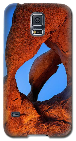 Evening's  Eye Galaxy S5 Case by Mike Lang