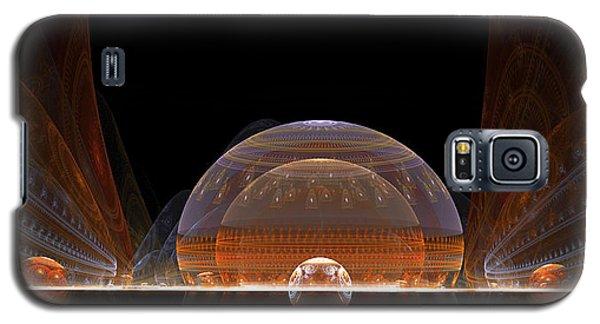 Galaxy S5 Case featuring the digital art Event Horizon by Richard Ortolano