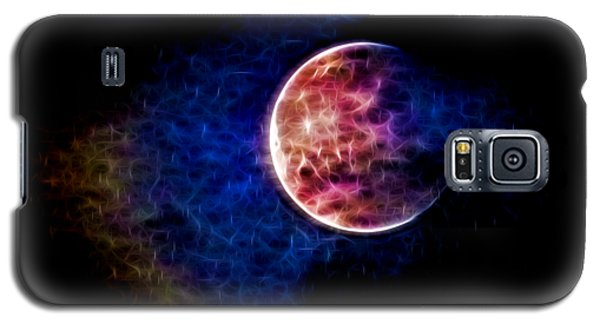 Ever Changing Moon Color Waves Galaxy S5 Case by Denise Beverly