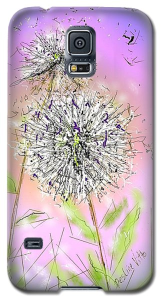 Galaxy S5 Case featuring the digital art Ever So by Desline Vitto