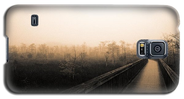 Galaxy S5 Case featuring the photograph Everglades Boardwalk by Gary Dean Mercer Clark