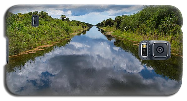 Everglades Canal Galaxy S5 Case