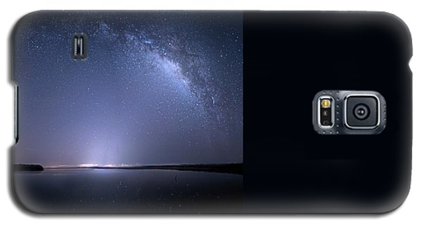 Galaxy S5 Case featuring the photograph Everglades National Park Milky Way by Mark Andrew Thomas