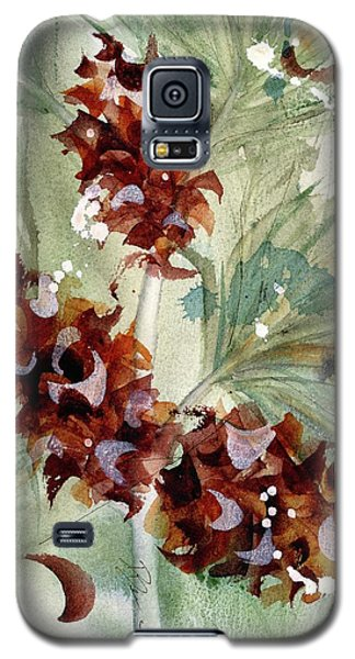 Galaxy S5 Case featuring the painting Evergreen Branch by Dawn Derman