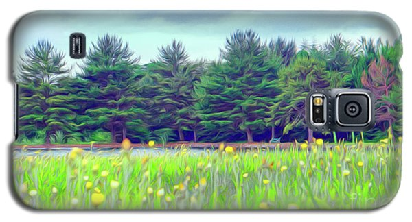 Evergreen Lake - Impressionism Galaxy S5 Case