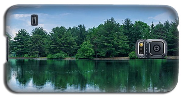 Evergreen Lake Reflections Galaxy S5 Case