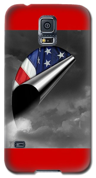 Galaxy S5 Case featuring the photograph every Cloud has a Lining by Karen Musick