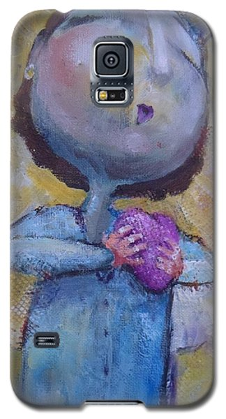 Galaxy S5 Case featuring the painting Every Morning by Eleatta Diver